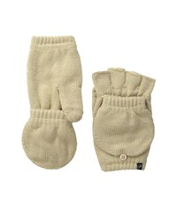 Plush Fleece Lined Texting Mittens Tan Dress Gloves