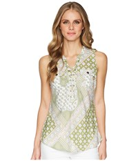 Aventura Clothing Giselle Tank Top Gravel Sleeveless Silver