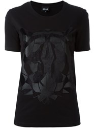Just Cavalli Tiger Print T Shirt Black