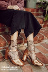 Urban Outfitters Ginger Mary Jane Heel Copper