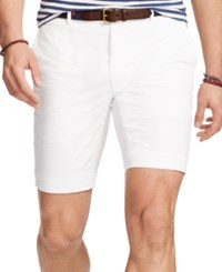 Polo Ralph Lauren Slim Fit Stretch Chino Shorts White