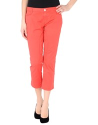 Siviglia Trousers Casual Trousers Women Fuchsia