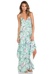 Lovers Friends Curacao Slip Dress Mint