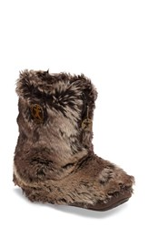 Bedroom Athletics Women's 'Cole' Faux Fur Slipper Boot