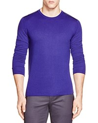 Hugo Boss Hugo Leather Trim Crewneck Sweater