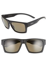 Smith Outlier 2Xl 59Mm Polarized Sunglasses Matte Black