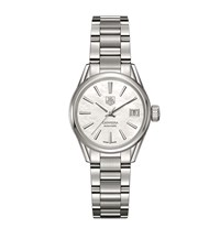 Tag Heuer Carrera Mother Of Pearl Automatic 28Mm Watch Unisex Ivory
