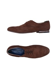 Alberto Guardiani Lace Up Shoes Cocoa
