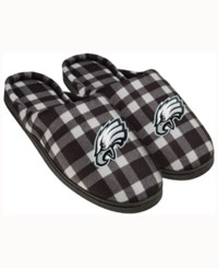 Forever Collectibles Philadelphia Eagles Flannel Slide Slippers Green