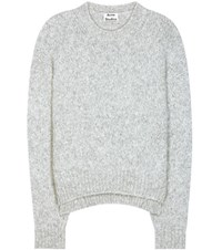 Acne Studios Shira Alpaca And Merino Wool Blend Sweater Grey