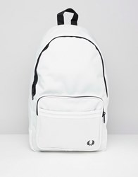 Fred Perry Large Backpack 129 Snow White