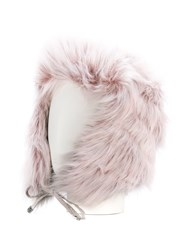 Urbancode Faux Fur Trapper Hat Acrylic Modacrylic Polyester Pink Purple