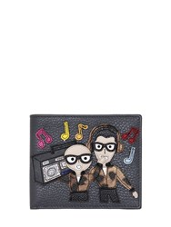 Dolce And Gabbana Designers Radio Leather Classic Wallet