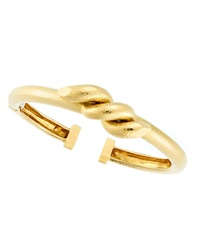 18K Twisted Nail Cuff Bracelet David Webb
