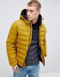 New Look Puffer Jacket In Mustard Mid Yellow