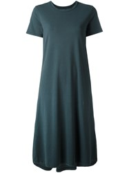 Labo Art Shift T Shirt Dress Green