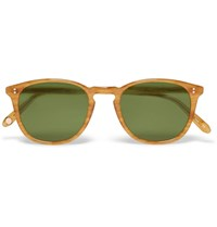Garrett Leight California Optical Kinney D Frame Acetate Sunglasses Brown