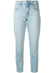 Nobody Denim Mid Rise Slim Cropped Jeans 60