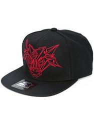 Marcelo Burlon County Of Milan Starter Bull Embroidered Cap Black