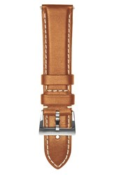 Jack Mason Brand Men's Leather Watch Strap 22Mm Tan