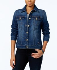 Tommy Hilfiger Denim Jacket Only At Macy's Sapphire