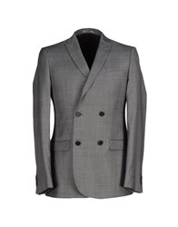 Bill Tornade Billtornade Suits And Jackets Blazers Men Grey
