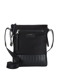 John Varvatos Remy Leather Crossbody Bag Black