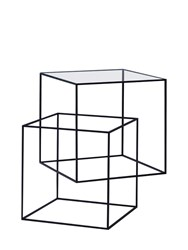 Cappellini Thin Black Accent Table
