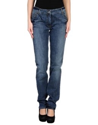 Alysi Denim Pants Blue