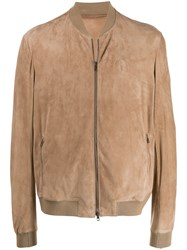 Salvatore Santoro Bomber Jacket Neutrals