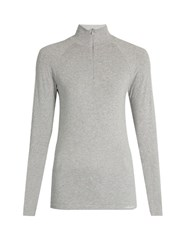Fusalp Oasis Seamless Long Sleeved Performance T Shirt Grey