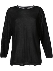 Avant Toi Long Sleeve Fitted Top 60