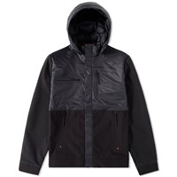 The North Face Red Label Denali Full Zip Jacket Black