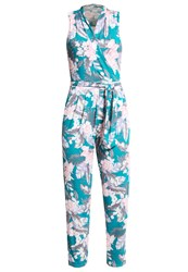 Miss Selfridge Jumpsuit Multi Bright Turquoise