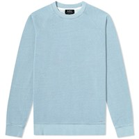 A.P.C. Robert Raglan Sweat Blue