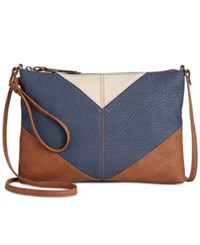 Styleandco. Style Co. Kathren Convertible Crossbody Only At Macy's Dark Blue