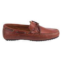 Barbour Eldon Suede Penny Driver Loafers Tan