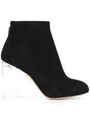 Charlotte Olympia 'Alba' Boots Black