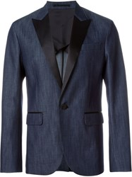 Dsquared2 Denim Effect Blazer Blue