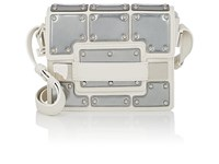 Delvaux Madame Mini Leather Shoulder Bag Ivory