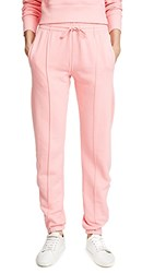 Re Done Reverse Weave Sweatpants Pink