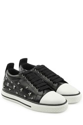 Red Valentino R.E.D. Leather Studded Sneakers