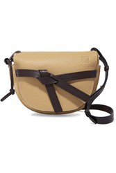 Loewe Gate Small Leather And Suede Shoulder Bag Beige Gbp