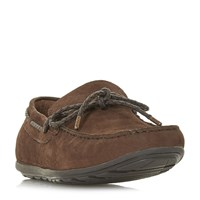 Howick Bario Knit Driver Shoes Brown