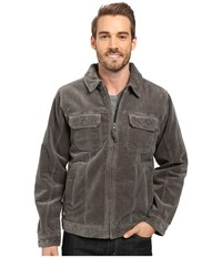 Quiksilver Santa Cruz 2 Jacket Gunmetal 1 Men's Coat Gray