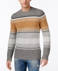 Tommy Hilfiger Men's Stanley Striped Crew Neck Sweater As Swatch
