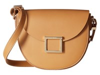 Jason Wu Mini Saddle Bag Cognac Handbags Tan