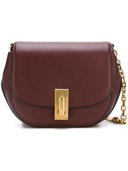 Marc Jacobs 'West End The Jane' Saddle Shoulder Bag Pink And Purple