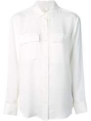 Michael Michael Kors Double Pocket Shirt White