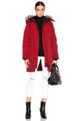 Canada Goose Shelburne Parka In Red